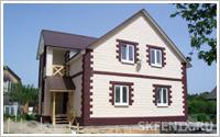 построить дом из теплоблоков